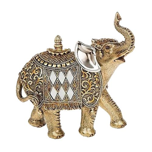Small Gold Elephant