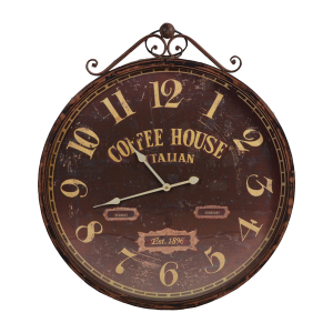 Giant Brown Clock