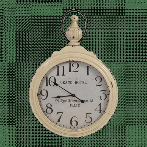 Giant White Clock