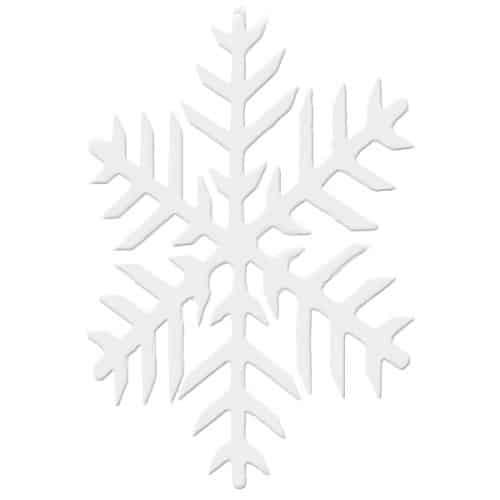 2d Snowflakes 20cm