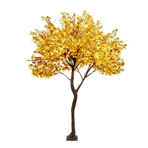 3m Gold Leaf Tree