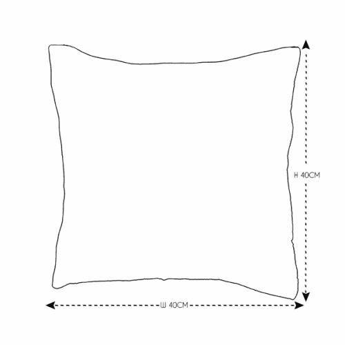 40cm Green Bird Cushion