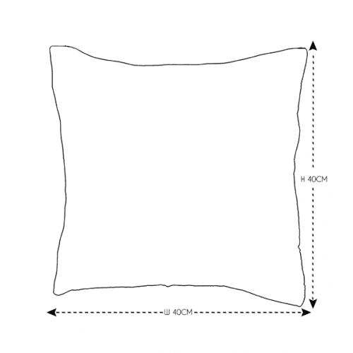 40cm Heather Velvet Cushion