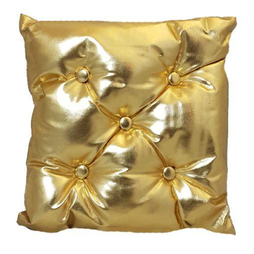 40cm Metallic Gold Seat Cushion