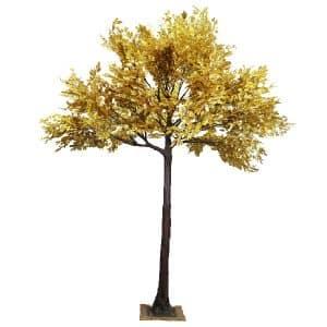 4m Gold Leaf Tree