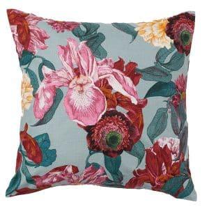 50cm Floral Weave Cushion