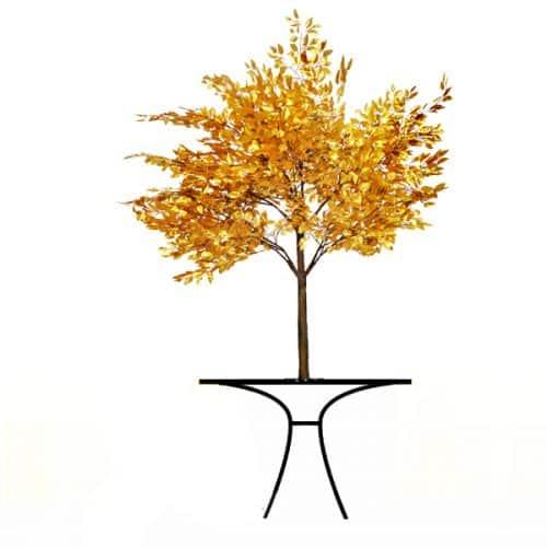 6ft Gold Leaf Tree