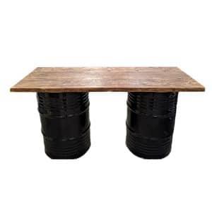 Straight Oil Drum Bar 6ft