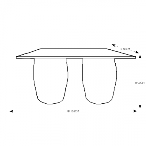 Straight Barrel Bar 6ft