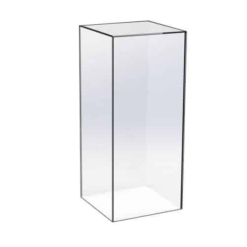 Clear Acrylic Plinth 30cm x 90cm