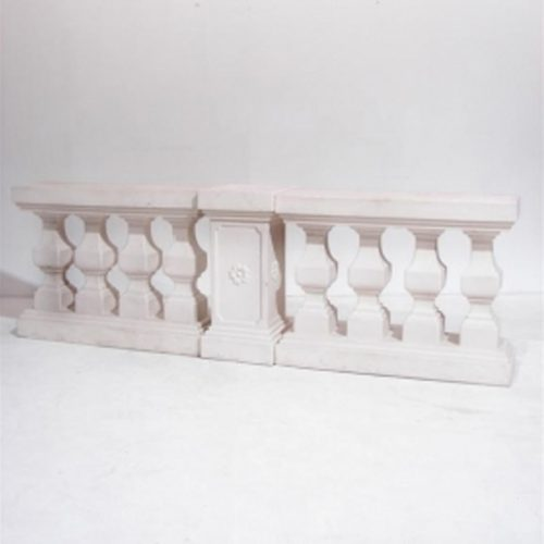 White Balustrade P.E