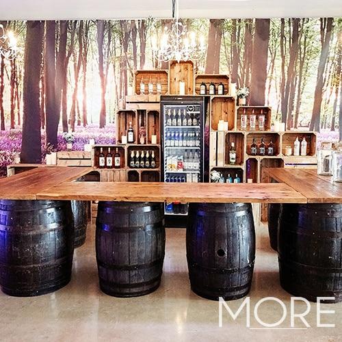 U Shaped Barrel Bar 3.6m