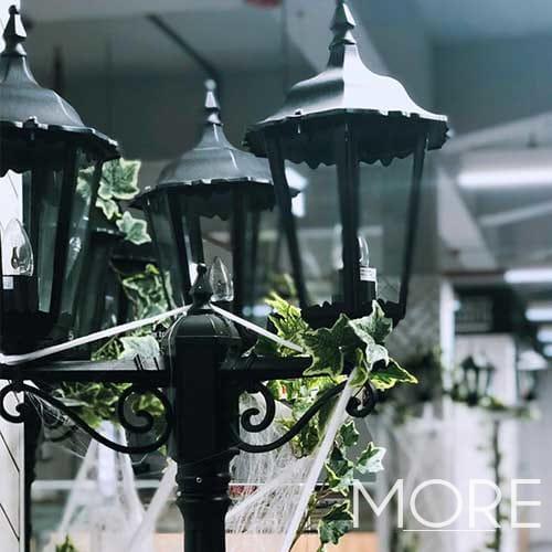 Black Street Lamp