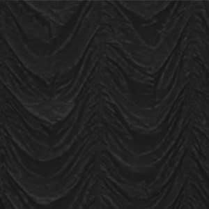 Black Cabaret Drape 3m drop per 2m section