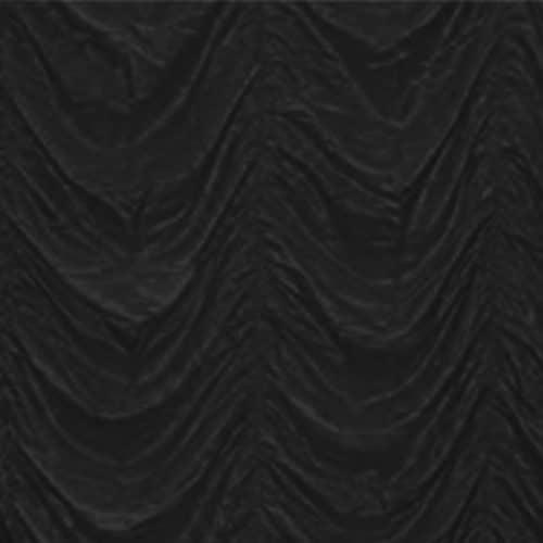 Black Cabaret Drape 4.5m drop per 2m section