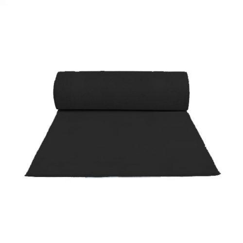 2m Wide Black Carpet, per meter