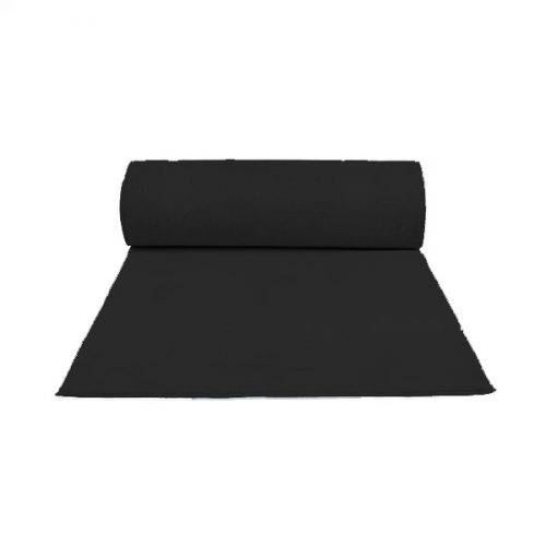 3m Wide Black Carpet per Metre