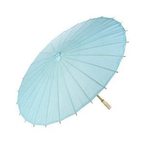 Blue Paper Parasol