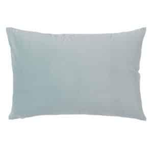 Rectangular Duck Egg Velvet Cushion