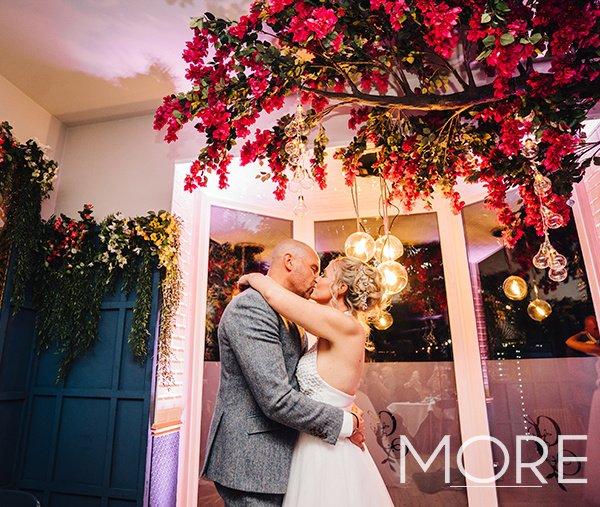 Bougainvillea-Tree-Greek-Themed-Wedding
