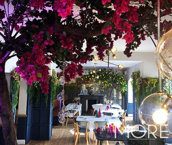 Bougainvillea-Tree-&-Lemon-Tree-Greek-Themed-Wedding