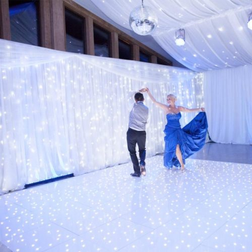 Bright White Fairy Light Curtain 2m Section