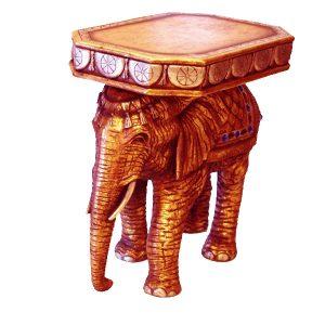 Elephant Table Bronze