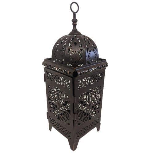 Moroccan Small Brown Dome Lantern