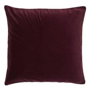 60cm Burgundy Cushion