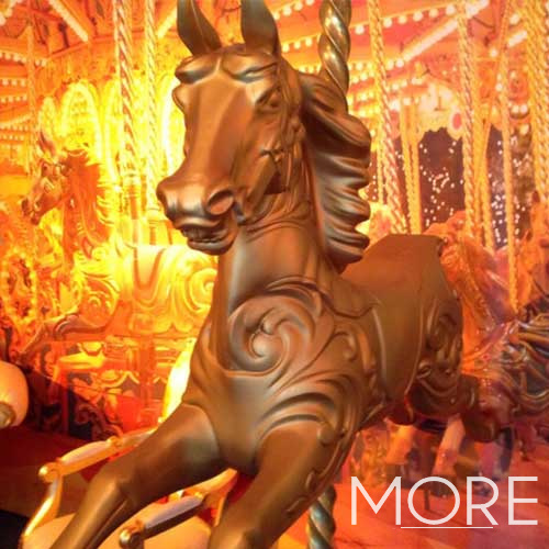Carousel Horse Gold