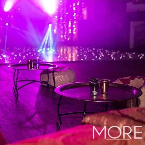Circular Coffee Table Brass