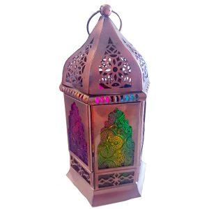 Contemporary Moroccan Small Glass Lanterns