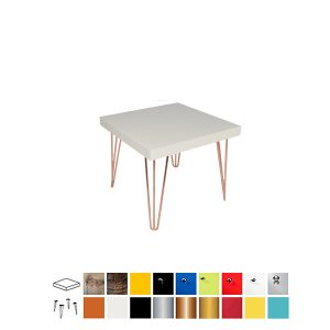 Hairpin Square Top Coffee Table
