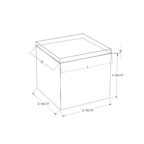 Reflection Cube Seat