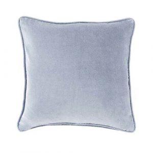 40cm Cornflower Blue Velvet Cushion
