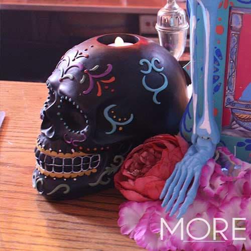 Decorative Floral Sugar Skull