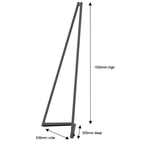Easel - Folding Metal Display Easel