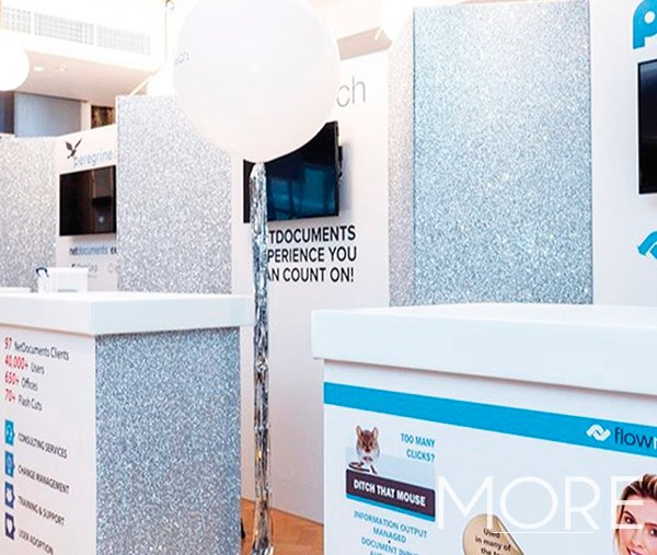 Exhibition glitter Stand Netdocuments