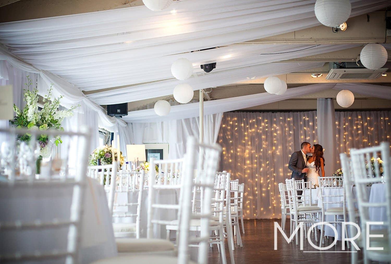 Top table wedding fairy light curtain backdrop-HMS