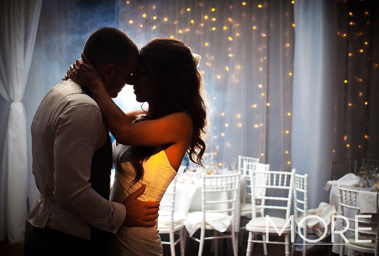 Top table wedding warm white fairy light curtain backdrop HMS