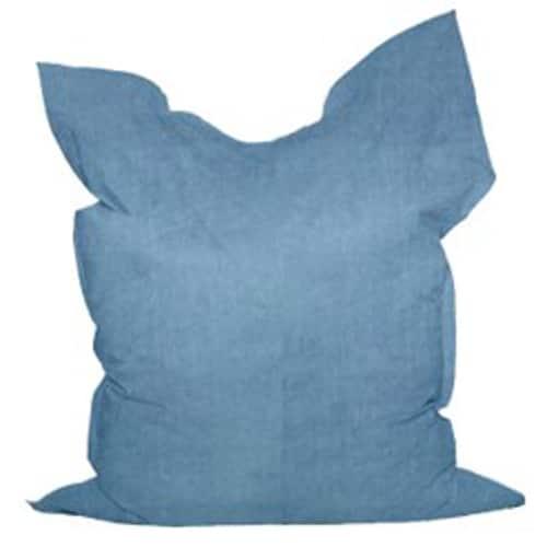 Fat Boy Bean Bag Blue Suede Cover