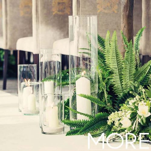 15cm Glass Vase
