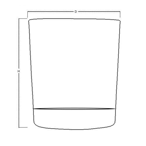 Glass Tea Light Votive