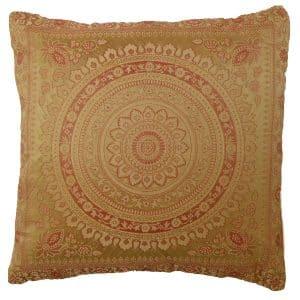 Gold Moroccan Cushion