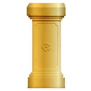 Gold Pedestal P.E