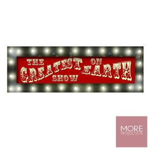 Greatest Show on Earth Sign