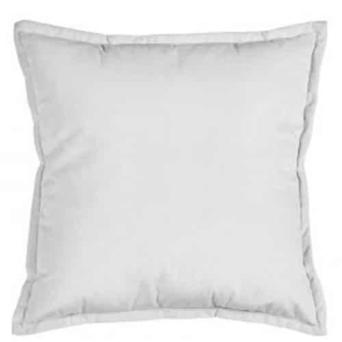 50cm Grey Velvet Cushion