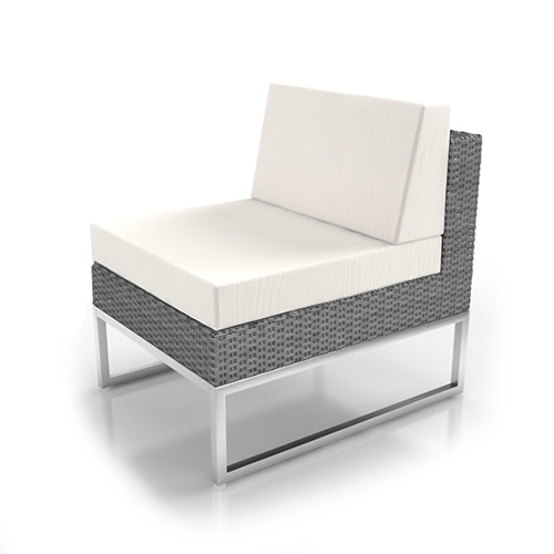 Rattan Grey Middle Section