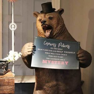 Bespoke Grizzly Bear Sign