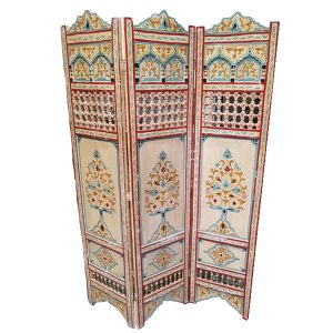 Hand Painted Moroccan Screens